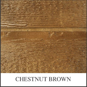 Urethane Chestnut Brown Desoto Series Shed Stain Sample