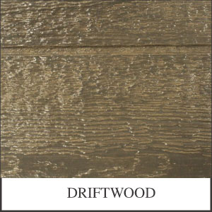 Urethane Driftwood Desoto Series Shed Stain Sample