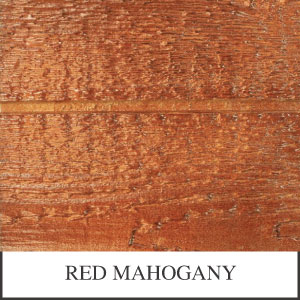 Red Mahogany Desoto Series Shed Stain Sample